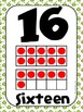 Common Core Number Posters: Full Size & Half Size {Frog Theme}