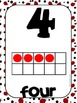 Common Core Number Posters: Full Size & Half Size {Ladybug Theme}