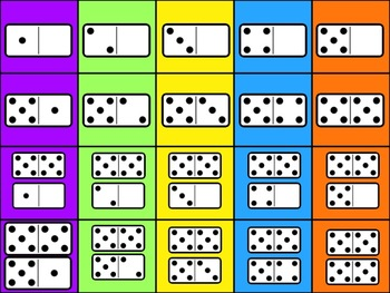 Common Core Number Practice Charts 1-30 and Subitize Dots MATH CENTERS