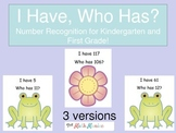 Common Core Number Recognition Spring Frog Flower Theme Nu