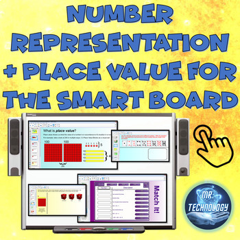 Common Core Number Representation & Place Value for the SMART Board