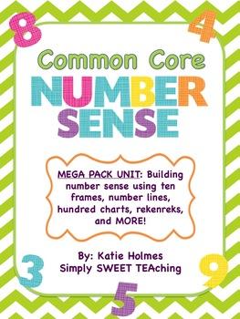 Common Core Number Sense Unit
