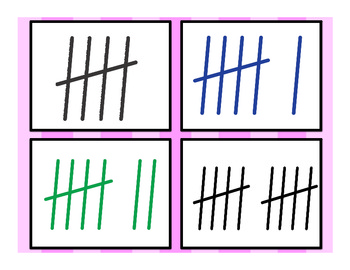 Common Core- Number Sense flash cards