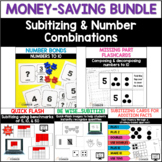 Subitizing and Number Combinations Bundle: Print and Digital