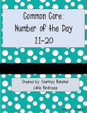 Common Core Number of the Day (11-20)