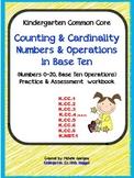 Common Core Number practice and assessment workbook (Kindergarten)