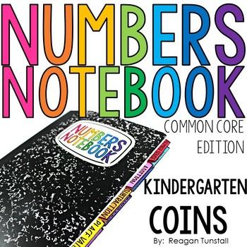 Common Core Numbers Notebook Coins Kindergarten