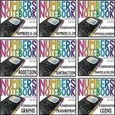 Common Core Numbers Notebook Kindergarten BUNDLE