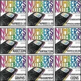 Common Core Numbers Notebook Kindergarten BUNDLE