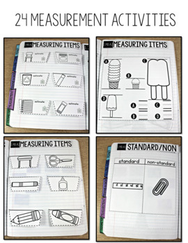 Common Core Numbers Notebook Measurement First Grade