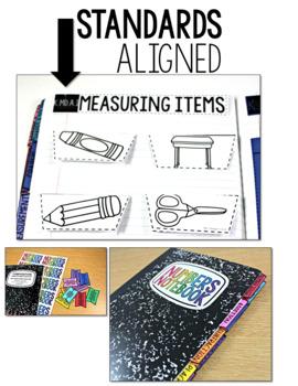 Common Core Numbers Notebook Measurement Kindergarten