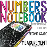 Common Core Numbers Notebook Measurement Second Grade