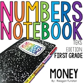 Common Core Numbers Notebook Money First Grade