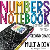 Common Core Numbers Notebook Multiplication Second Grade
