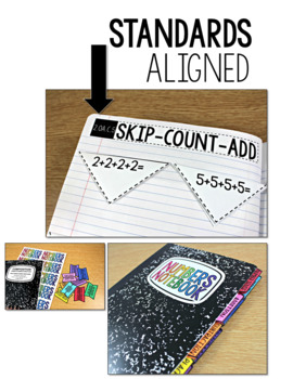 Common Core Numbers Notebook Second Grade Addition Subtraction