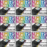 Common Core Numbers Notebook Second Grade BUNDLE
