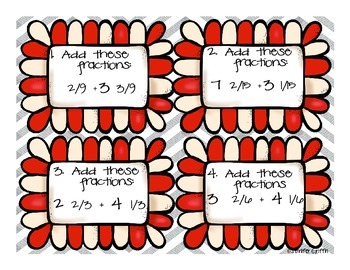 Common Core: Numbers and Operations: Adding and Subtracting Mixed Numbers