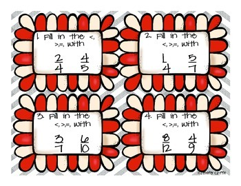 Common Core: Numbers and Operations: Comparing Fractions