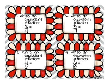 Common Core: Numbers and Operations: Equivalent Fractions