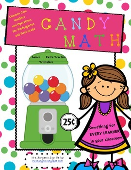Common Core Numbers and Operations for Kindergarten and Fi