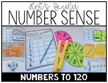 Let's Build Number Sense: Numbers to 120