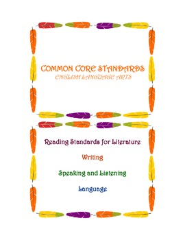 Common Core Objectives