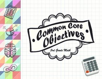 Common Core Objectives 3rd Grade Math