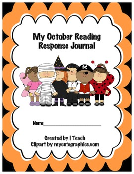 Common Core October Reading Response Journal
