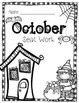 2nd Grade Common Core: October Morning Seat Work Packet