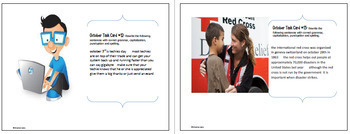 "October Themed ""Daily Editing"" Writing Task Cards, Fun History Integration!"