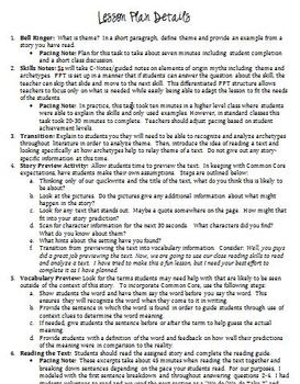 """Common Core """"Of Plymouth Plantation"""" Lesson Plan, Reading Guide, PPT with KEY!"""