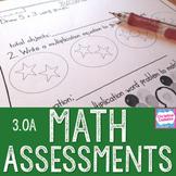 Math Assessments - Third Grade Algebra