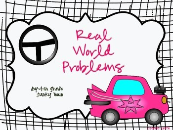 Real World Word Problems