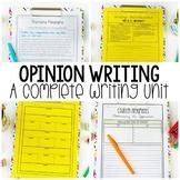 Opinion Writing Unit | Writing Workshop | Print and Digital
