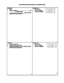 Common Core Opinion Writing Planning Sheets