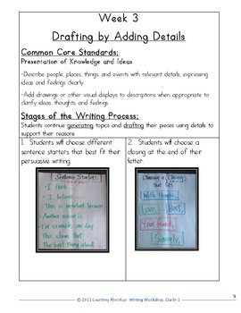 Common Core Opinion and Persuasive Writing- 1st Grade Unit of Study