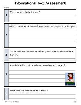 Common Core Organizer, Assessment Guide & Portfolio 3rd Grade Literacy & Writing