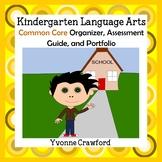 Common Core Organizer, Assessment Guide, Portfolio Kinderg