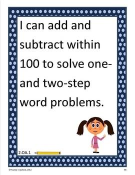 Common Core Organizer, Assessment Guide and Portfolio - Second Grade Math