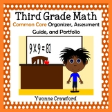 Common Core Organizer, Assessment Guide and Portfolio - Third Grade Math