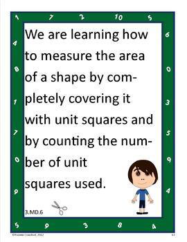 Common Core Organizer, Assessment Guide and Portfolio - Third Grade Math