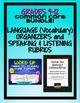 Common Core Organizers & Activities BUNDLE Grades 9-12