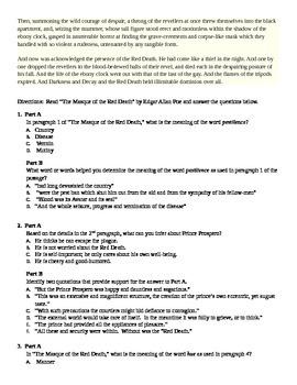 Common Core PARCC Practice Questions