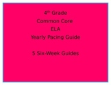 Common Core Pacing Guide-4th Grade ELA