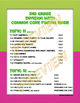 Common Core Pacing Guide for Second Grade enVision Math
