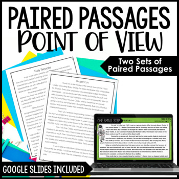 Paired Passages {Focus on Point of View}
