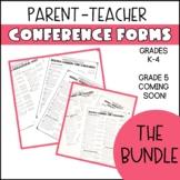 Common Core Parent Conference Forms (GROWING BUNDLE)