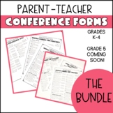 Common Core Parent Conference Forms (GROWING BUNDLE)