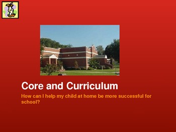 Common Core Parent Workshop