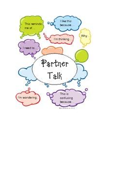 Common Core Partner Talk Self-Assessment